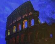 Coliseum at  Night